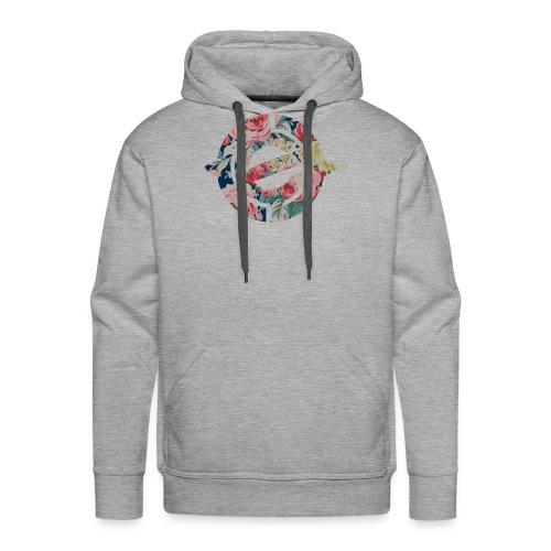 Enter Floral Logo - Men's Premium Hoodie