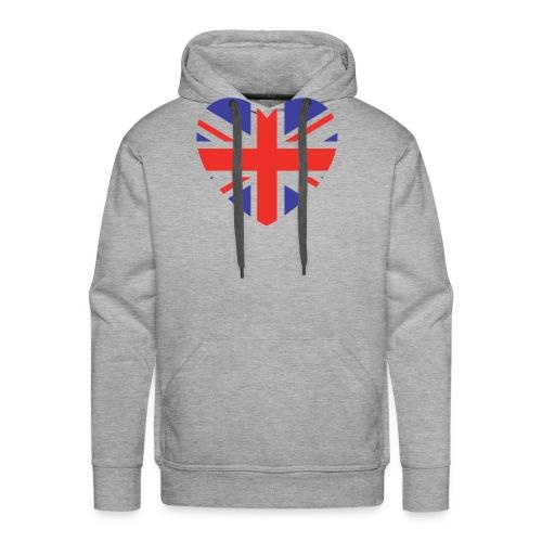 Lovely Britain - Men's Premium Hoodie