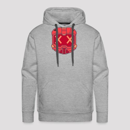 Blood Knight - Red Helmet - Men's Premium Hoodie