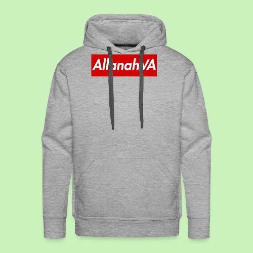AllanahVA Supreme Red - Men's Premium Hoodie