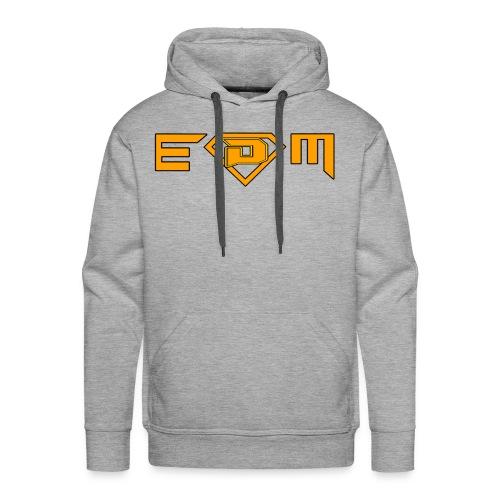 EDM music (DamieN Hea7eN Style) - Men's Premium Hoodie