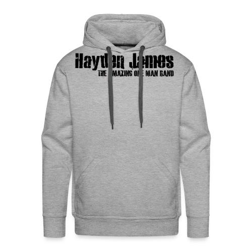 HJ Trans Logo Black 2018 - Men's Premium Hoodie