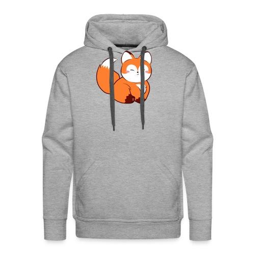 fat little baby fox - Men's Premium Hoodie