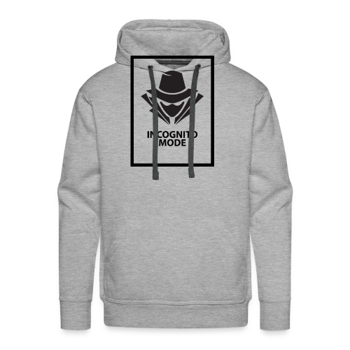 Incognito Mode (Black) - Men's Premium Hoodie