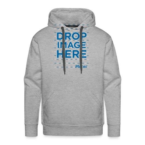 DROP IMAGE HERE - Placeit Design - Men's Premium Hoodie