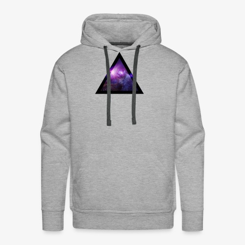 Galaxy with Deer - Men's Premium Hoodie