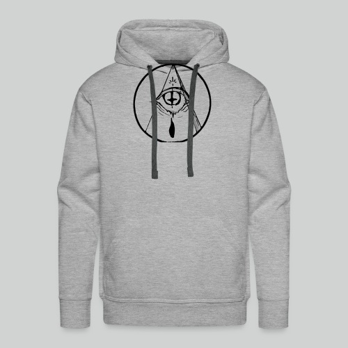 occult eye - Men's Premium Hoodie