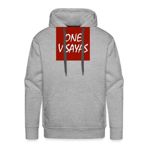ONEVisayas Logo - Men's Premium Hoodie