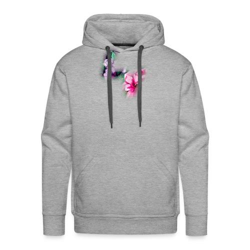 Floral Logo - Men's Premium Hoodie