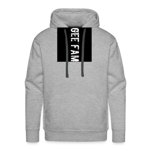 Gee fam clothing is the way to go - Men's Premium Hoodie