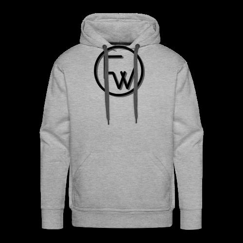 A Funny Wilson Production Black Logo - Men's Premium Hoodie