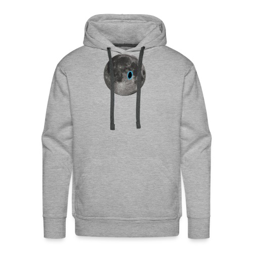 Portal on the Moon - Men's Premium Hoodie