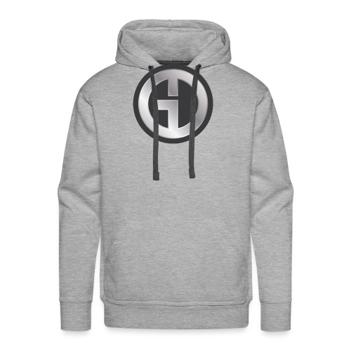 Gristwood Design Logo (No Text) For Dark Fabric - Men's Premium Hoodie