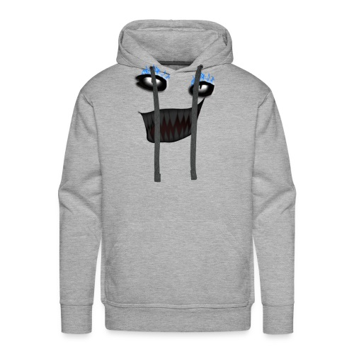 Littism Flame Biter Face - Men's Premium Hoodie
