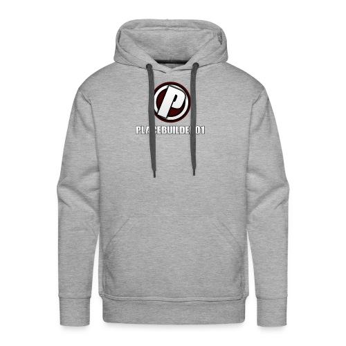 PlaceBuilder01 Merchandise Logo - Men's Premium Hoodie