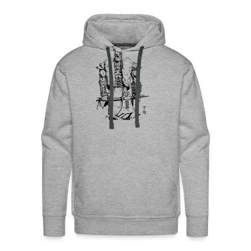 Viking warrior - Men's Premium Hoodie