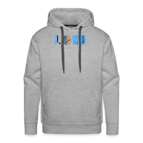Blue T or CT - Men's Premium Hoodie