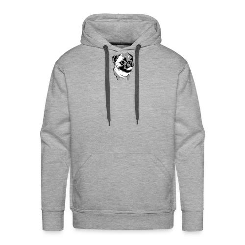 BreezyPug - Men's Premium Hoodie