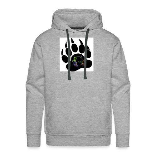 Splatter logo - Men's Premium Hoodie
