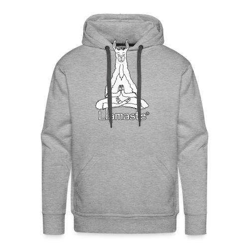 Llamaste Hoodie Logo - Men's Premium Hoodie