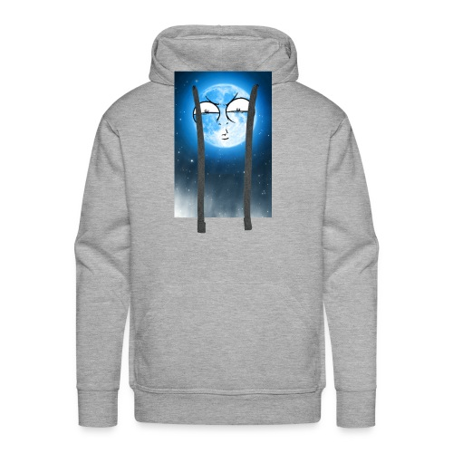 BLUE MOON UP - Men's Premium Hoodie