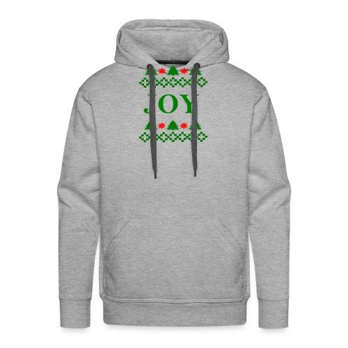 Christmas Joy - Men's Premium Hoodie