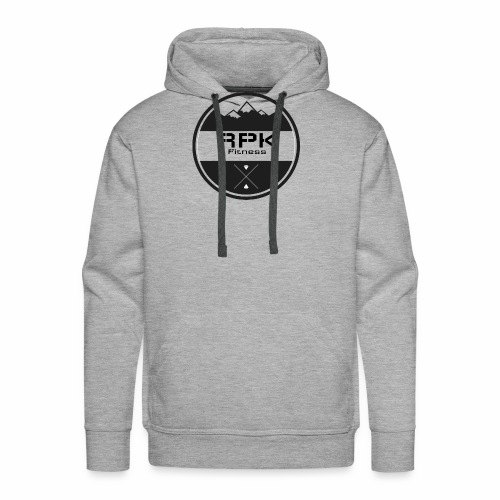 RPK Fit White - Men's Premium Hoodie