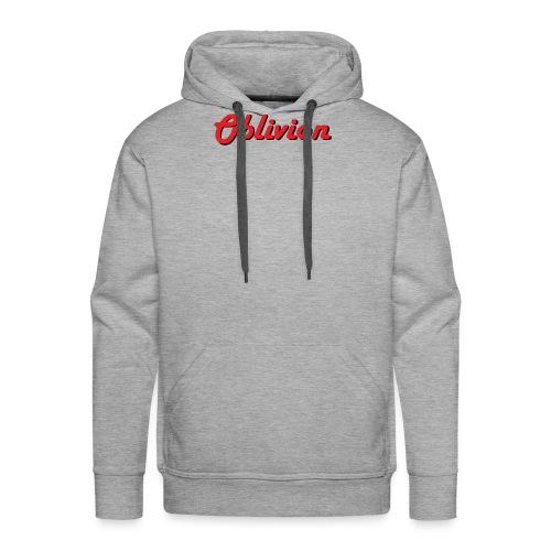 Oblivion Text Design - Men's Premium Hoodie