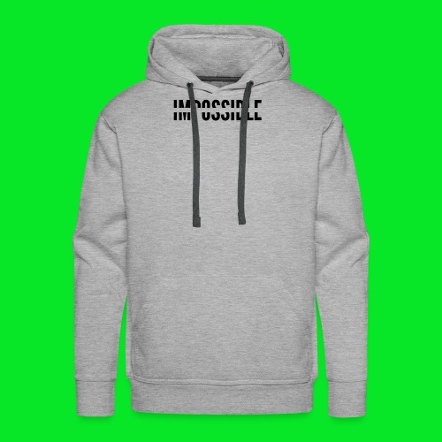 Impossible - Men's Premium Hoodie