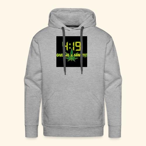 What time - Men's Premium Hoodie