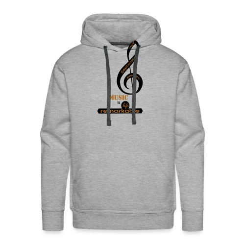 Remarkable Music - Men's Premium Hoodie