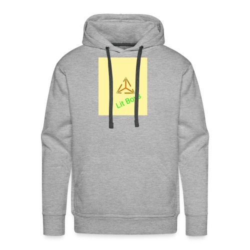 Lit Boys Don't Care merch - Men's Premium Hoodie