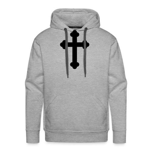 Orthodox Cross - Men's Premium Hoodie