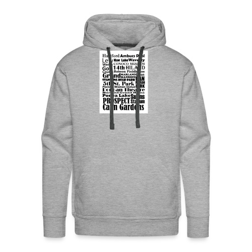 Places to Be in Ponca City - Men's Premium Hoodie