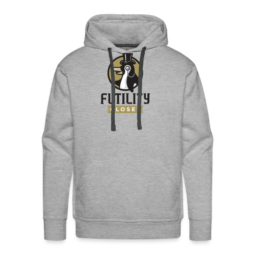 Futility Closet Logo - Color - Men's Premium Hoodie