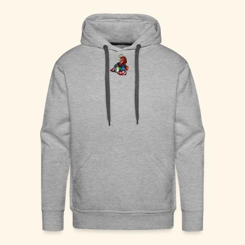 Transparent logo - Men's Premium Hoodie