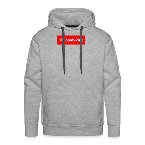 Yabba My Icing Supreme Logo - Men's Premium Hoodie
