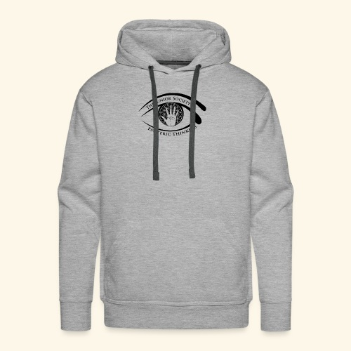Society of Esoteric Thinkers black logo - Men's Premium Hoodie
