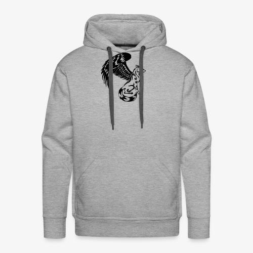 winged wolf - Men's Premium Hoodie
