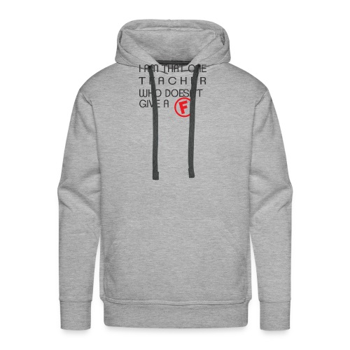 Doesn't Give A F - Men's Premium Hoodie