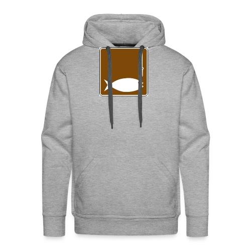 Fishing clipart image - Men's Premium Hoodie