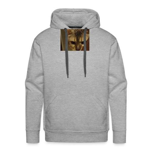 A cat - Men's Premium Hoodie
