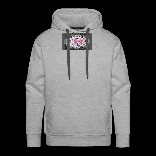 Pink Coffee Logo #1 - Men's Premium Hoodie
