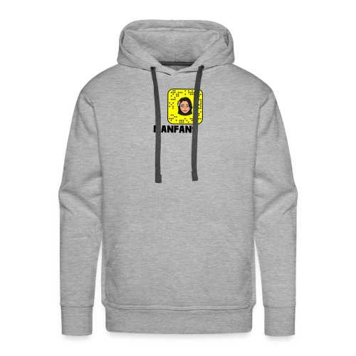 Manfans fans Snapchat - Men's Premium Hoodie