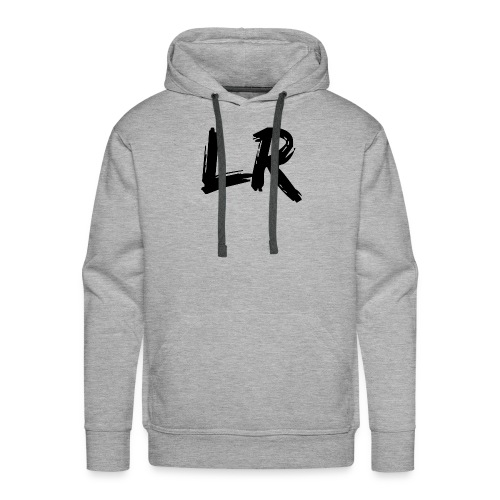 LiamRusso Logo Zwart - Men's Premium Hoodie