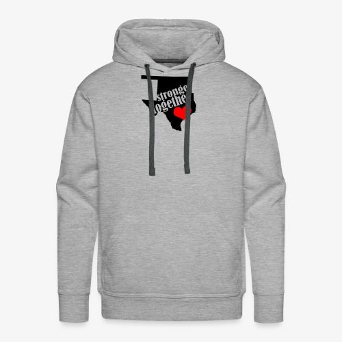 Oklahoma Strong   Stronger Together - Men's Premium Hoodie