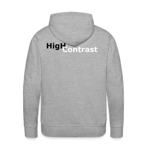 High Contrast - Men's Premium Hoodie