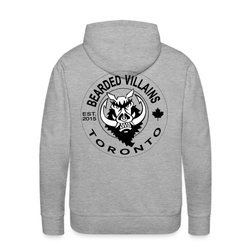 Toronto white logo - Men's Premium Hoodie