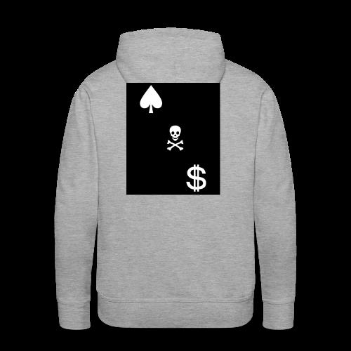 Cash Club Skull - Men's Premium Hoodie