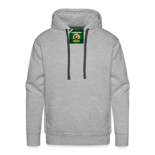 American Football ball - Men's Premium Hoodie